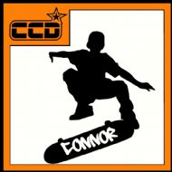 PERSONALISED SKATER DECAL